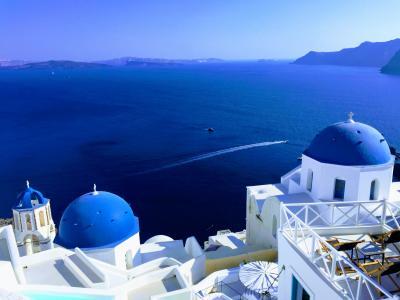 サントリーニ島とアテネ・メテオラの旅