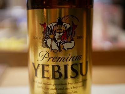 サザエとマスオの東京さんぽ ビールでお腹いっぱい