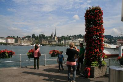 スイスの古都、ルツェルンで過ごす