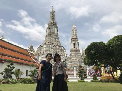 おばさん2人タイ旅行❣️