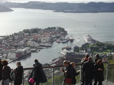ノルウェー スタヴァンゲル/ベルゲン へ (ベルゲン&ヴォス)