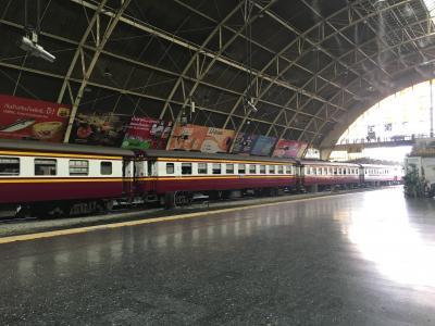 タイ国鉄に乗って国境越え