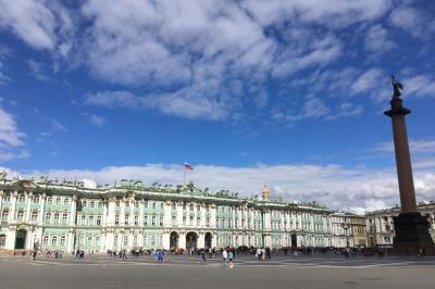 2018 夏 ロシア&バルト三国の旅③ 芸術いっぱいの町 サンクトペテルブルクの巻