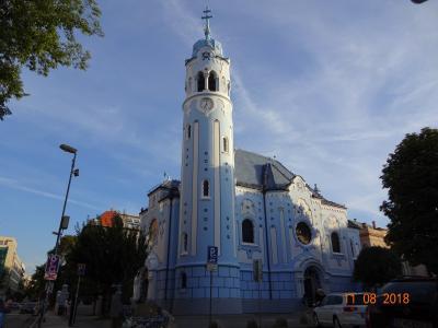 スロバキア・ウィーン・ザルツブルク、10泊11日の家族旅行(1/7: スロバキアのブラチスラヴァ街中編)