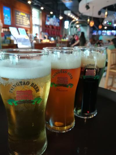 2018年 5月 中国・青島 本場で飲む青島ビールは旨かった!