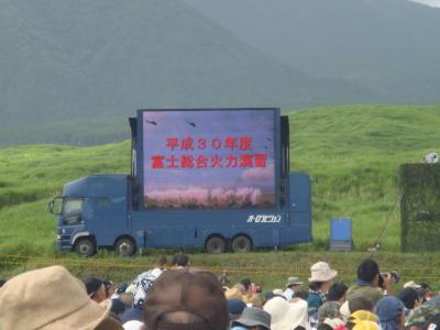 平成30年度 富士総合火力演習