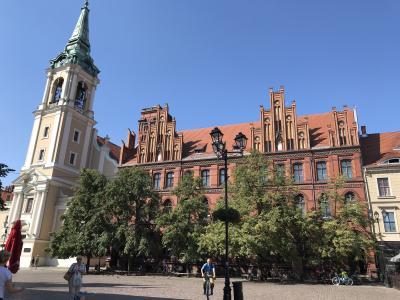 ポーランドとスロバキア13日間の旅④ 中世都市トルン