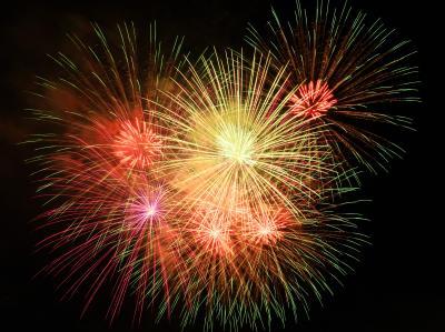 3万発の花火が上がる長良川中日花火大会: 観覧と写真撮影