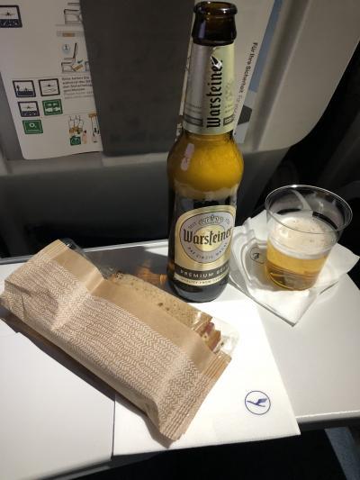 3018年6月 夫婦で初パリ旅行記 その2 ルフトハンザドイツ航空 FRA/CDG 往復搭乗記