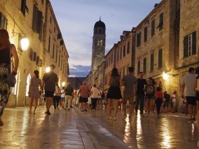 女子旅inクロアチア~ドブロヴニクの街をぶらぶら~