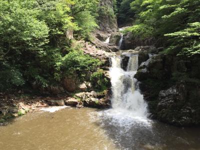 三段滝トレッキング