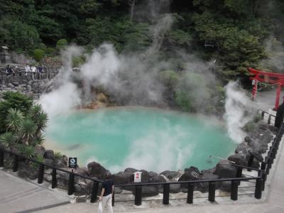 別府・鉄輪温泉を散策