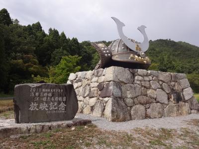 ダブル台風と一緒に、長浜・福井・能登で車中泊(2/17)小谷城跡、賤ヶ岳古戦場、長浜城跡と、歴史の詰まる近江盆地を点々と