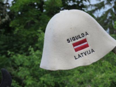 【 6 】 『ラトヴィアのスイス 』  スィグルダで気持ち良い散歩  【  バルト3国ツアー 9日間 】