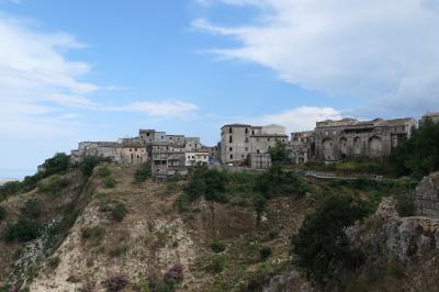 美しき南イタリア旅行♪ Vol.133(第5日)☆Stilo:イタリア美しき村「スティーロ」洞窟教会から美しい旧市街景観♪