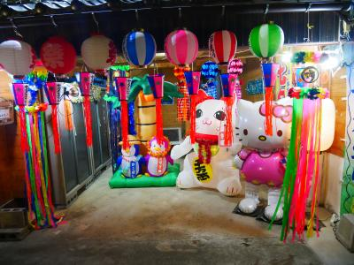2018年8月7日(火)鳥取県米子市内町の七夕祭り