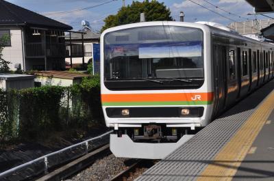 2018年8月関東一泊旅行5(八高線経由で帰途)