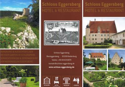 2018年ドイツの春:⑬40代の頃、家族で一泊した懐かしの古城ホテル エッガースベルク城