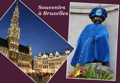 秋色のベルギーひとり旅(4)コミック壁画とアールヌーボー建築を巡る《ブリュッセル》☆Bruxelles