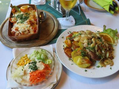 心の安らぎ旅行(2018年 春 Uelzen ウェルツェン Part3 ドイツ料理を食べる編)