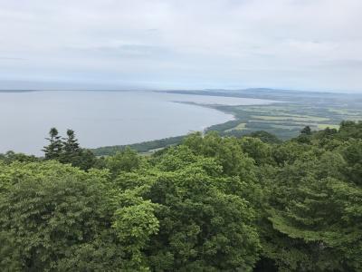 201807-07_夏の北海道7日目(網走~サロマ湖~石北峠~層雲峡~旭岳温泉へのドライブ) Hokkaido in summer (Driving from Abashiri to Asahidake Onsen)