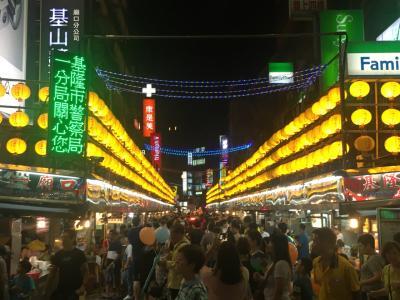 【成田発:CI】2018年Summer vacation in taiwan 台湾を縦断する旅!旅の初っぱな台北で食べ歩き編