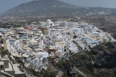 再びギリシャ  個人手配   3日目  サントリーニ島