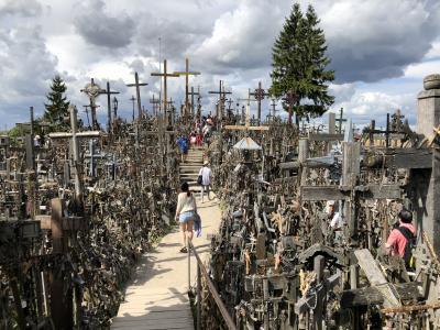 2018年8月 ラトヴィア・リトアニア・ポーランドに行って来ました。Part.2 リトアニア①リガからシャウレイ十字架の丘経由でビリニュスへ