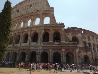 イタリア旅行 親子三人旅