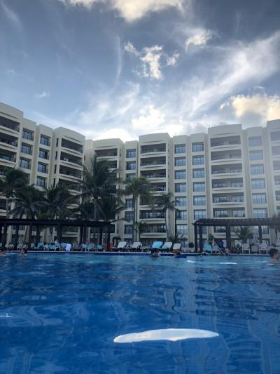 All-inclusive in Cancun(2018年8月)