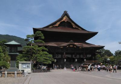 信州周遊:夏のドライブ旅P6.長野・善光寺