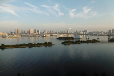 ヒルトン東京お台場・海浜公園・東京ベイコート:東京お台場のゴールデンルートを散歩する