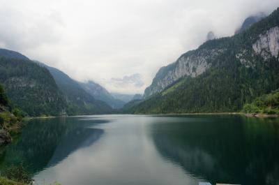 2018 初チロルハイキング! オーストリア列車の旅11日間♪⑪ ゴーザウ湖と幻想的なハルシュタット