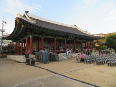 韓国 「行った所・見た所」 安東駅から市街地中心・雄府公園・文化通りを歩きました