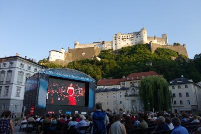 夏のヨーロッパ3ヶ国を巡る一人旅 その10《ザルツブルク旧市街》