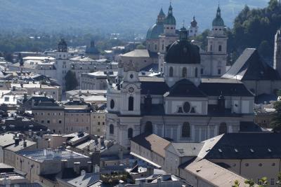 夏のヨーロッパ3ヶ国を巡る一人旅 その11《ザルツブルク旧市街:メンヒスベルク》