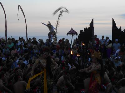 2018年インドネシア一人旅④バリ島・サヌール~ウルワツ寺院