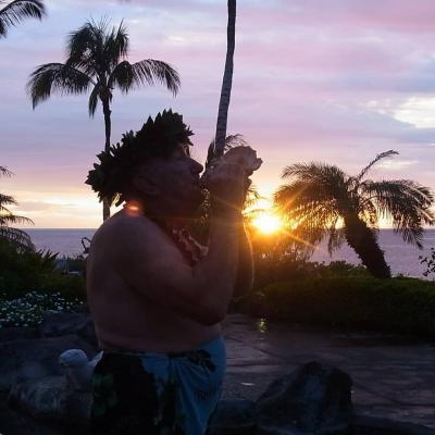 両親を連れてハワイ島①