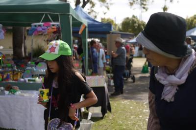 【ケアンズ旅行記3日目(1):初めてのオーストラリアはマリーバから。~Mareeba Local Market】子供2人とおばあちゃんを連れて・・・完全個人手配で楽しみ尽くすぞ♪