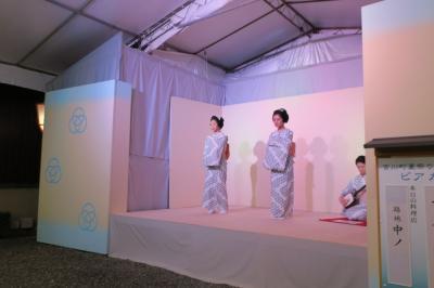 今年の夏は京都祇園・宮川町ビアガーデン♪