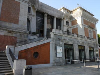 マドリッド1_プラド美術館からセラーノ通り