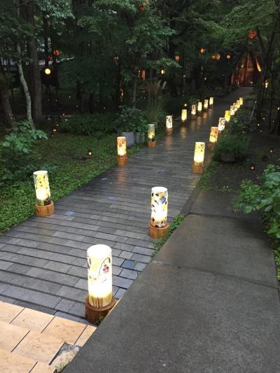 軽井沢で結婚式からの群馬で寄り道 軽井沢編