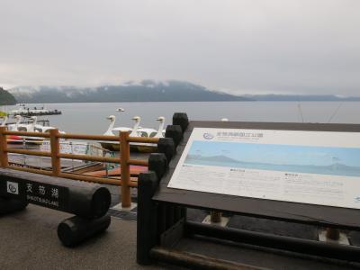 2018夏休み 北海道の旅<第4日>雨の支笏湖