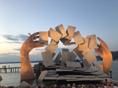 ボーデン湖とチロルを巡る鉄道の旅 8泊10日 Vol.5 あこがれのブレゲンツ湖上音楽祭へ!