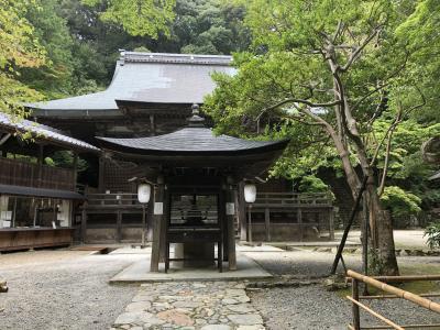 漢字が読めなかったお寺。。。神峯山寺(かぶさんじ)