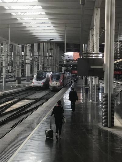 スペイン旅行2018 その14  バルセロナーマドリードRENFE電車移動