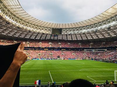 いざワールドカップ決勝へ