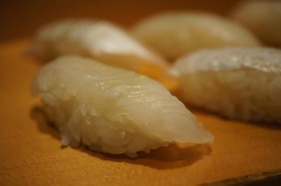 20180903 築地 寿司大さん、終電到着して…白身三昧とか、色々と