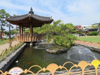 韓国 「行った所・見た所」 安東の安東ホテルに宿泊して大師廟と文化公園に