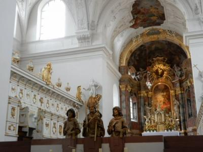 2017GW 初の東ドイツ~プラハ 【93】 ヴュルツブルクその1 まずは2つの教会へ